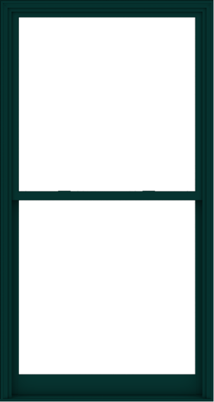 WDMA 48x90 (47.5 x 89.5 inch)  Aluminum Single Hung Double Hung Window without Grids-5
