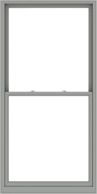 WDMA 48x96 (47.5 x 95.5 inch)  Aluminum Single Double Hung Window without Grids-1