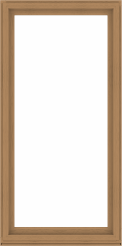 WDMA 48x96 (47.5 x 95.5 inch) Composite Wood Aluminum-Clad Picture Window without Grids-1