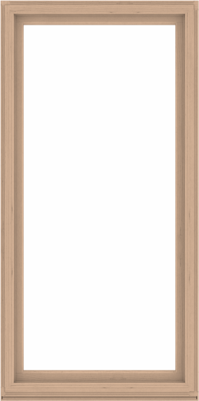 WDMA 48x96 (47.5 x 95.5 inch) Composite Wood Aluminum-Clad Picture Window without Grids-2