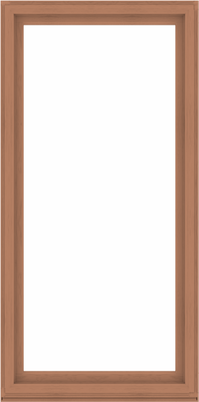 WDMA 48x96 (47.5 x 95.5 inch) Composite Wood Aluminum-Clad Picture Window without Grids-4
