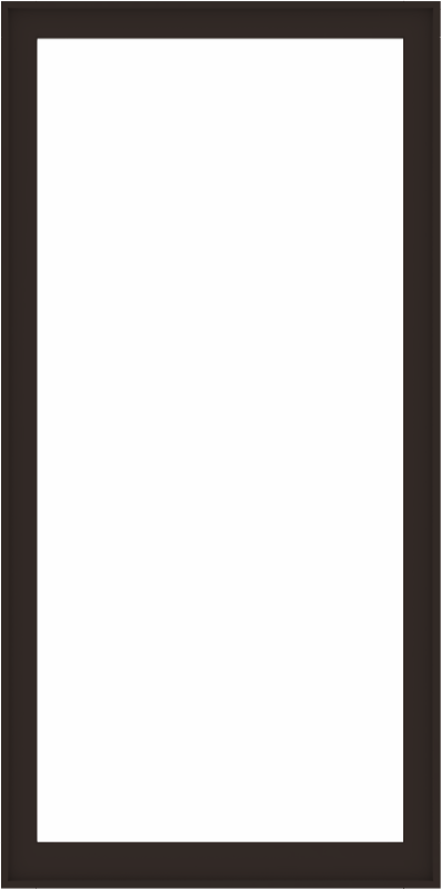 WDMA 48x96 (47.5 x 95.5 inch) Composite Wood Aluminum-Clad Picture Window without Grids-6