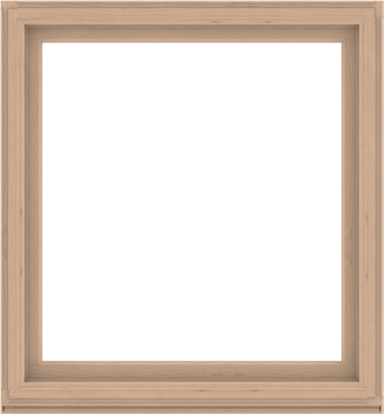 WDMA 52x56 (51.5 x 55.5 inch) Composite Wood Aluminum-Clad Picture Window without Grids-2