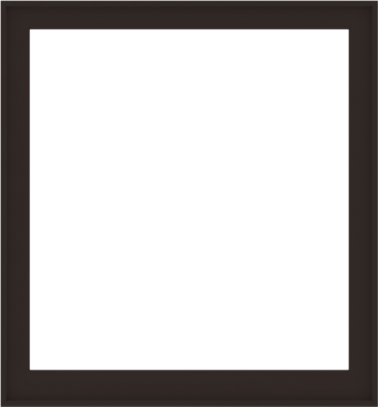 WDMA 52x56 (51.5 x 55.5 inch) Composite Wood Aluminum-Clad Picture Window without Grids-6