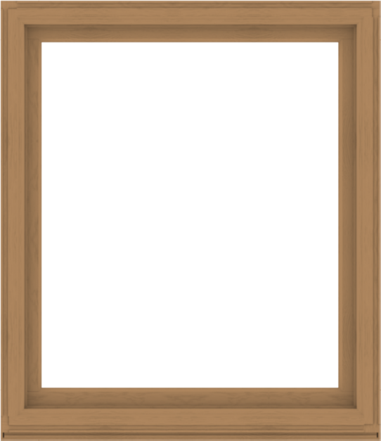 WDMA 52x60 (51.5 x 59.5 inch) Composite Wood Aluminum-Clad Picture Window without Grids-1