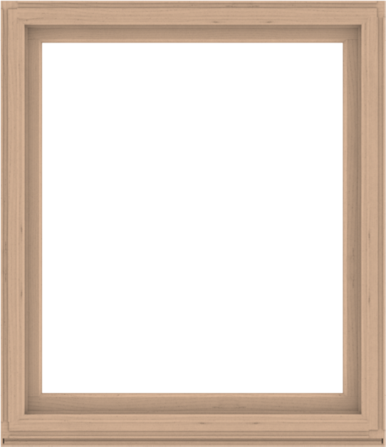 WDMA 52x60 (51.5 x 59.5 inch) Composite Wood Aluminum-Clad Picture Window without Grids-2