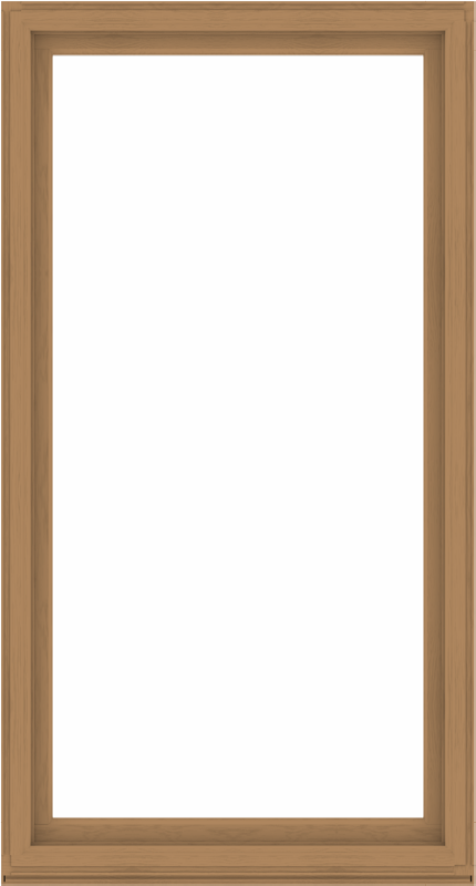 WDMA 52x96 (51.5 x 95.5 inch) Composite Wood Aluminum-Clad Picture Window without Grids-1