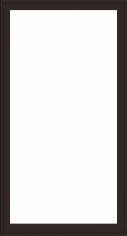 WDMA 52x96 (51.5 x 95.5 inch) Composite Wood Aluminum-Clad Picture Window without Grids-6