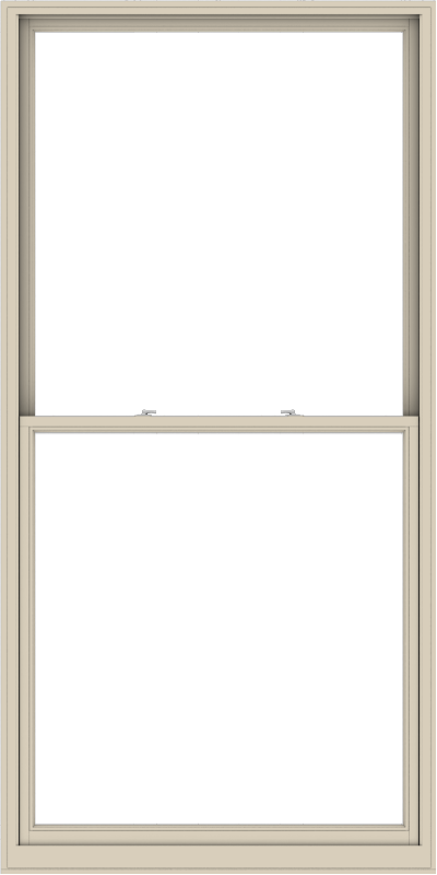 WDMA 54x108 (53.5 x 107.5 inch)  Aluminum Single Hung Double Hung Window without Grids-2