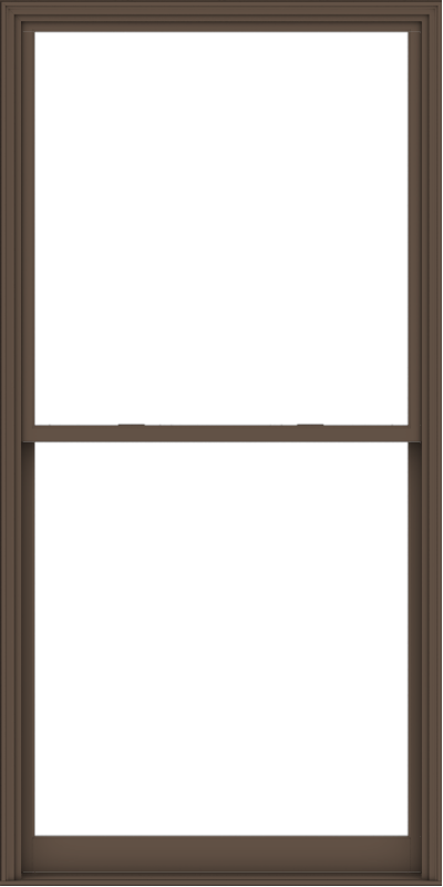 WDMA 54x108 (53.5 x 107.5 inch)  Aluminum Single Hung Double Hung Window without Grids-4