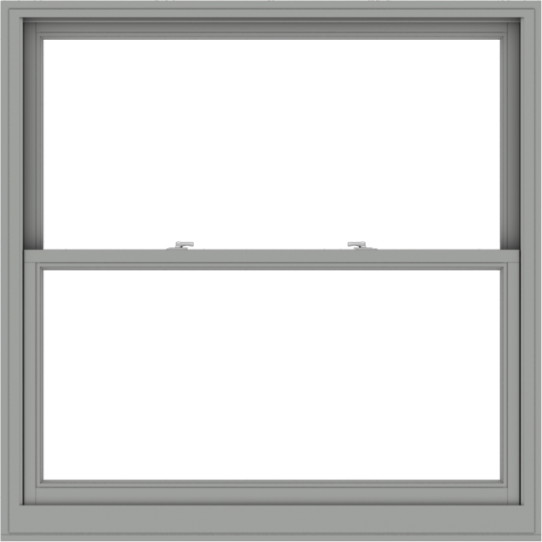 WDMA 54x54 (53.5 x 53.5 inch)  Aluminum Single Double Hung Window without Grids-1