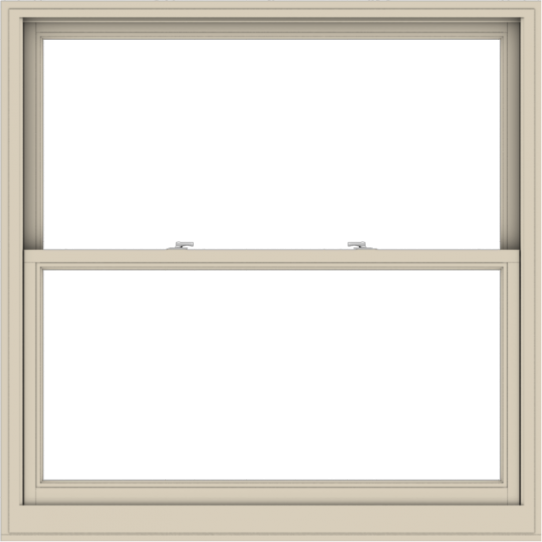 WDMA 54x54 (53.5 x 53.5 inch)  Aluminum Single Hung Double Hung Window without Grids-2