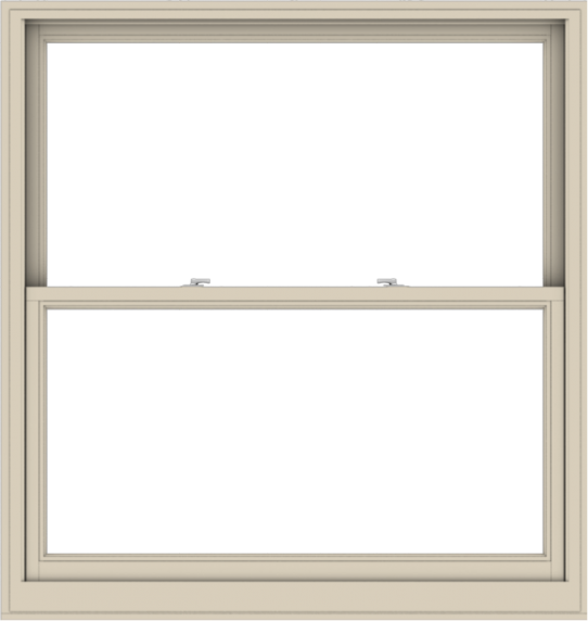 WDMA 54x57 (53.5 x 56.5 inch)  Aluminum Single Hung Double Hung Window without Grids-2