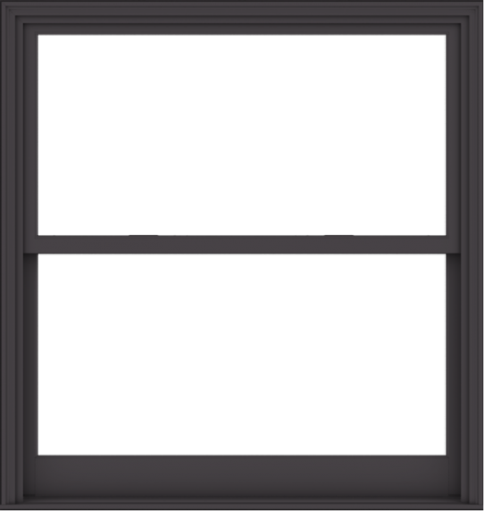 WDMA 54x57 (53.5 x 56.5 inch)  Aluminum Single Hung Double Hung Window without Grids-3