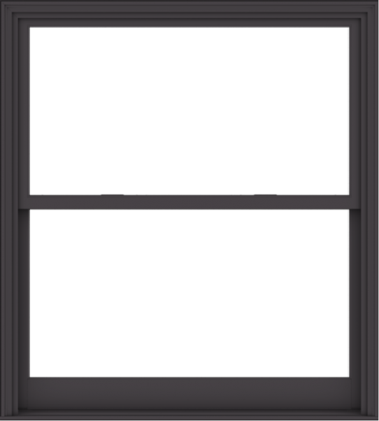 WDMA 54x60 (53.5 x 59.5 inch)  Aluminum Single Hung Double Hung Window without Grids-3