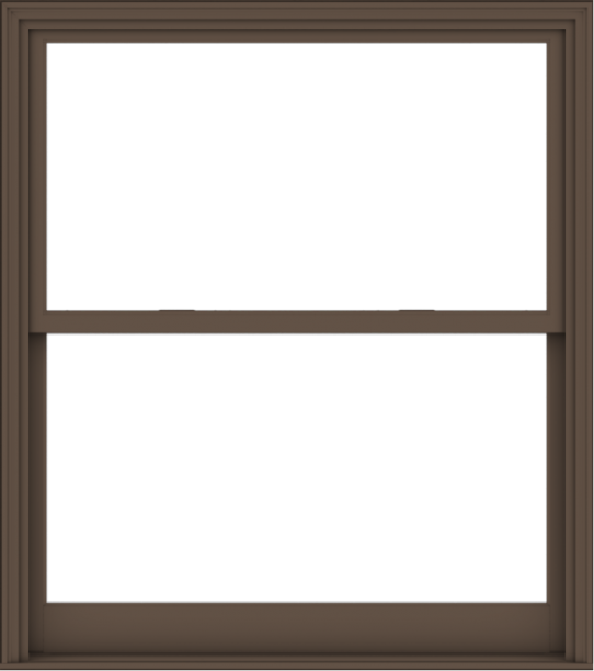 WDMA 54x61 (53.5 x 60.5 inch)  Aluminum Single Hung Double Hung Window without Grids-4