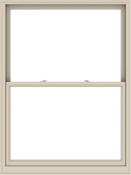 WDMA 54x72 (53.5 x 71.5 inch)  Aluminum Single Hung Double Hung Window without Grids-2