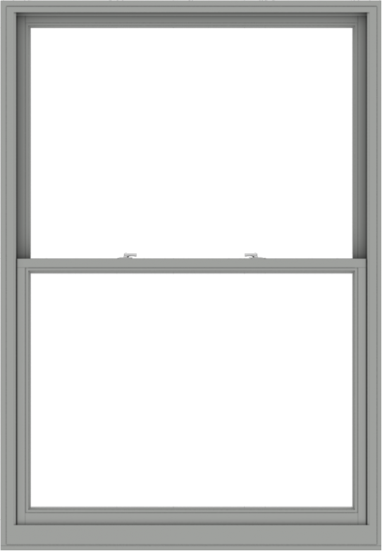 WDMA 54x78 (53.5 x 77.5 inch)  Aluminum Single Double Hung Window without Grids-1