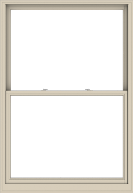 WDMA 54x78 (53.5 x 77.5 inch)  Aluminum Single Hung Double Hung Window without Grids-2