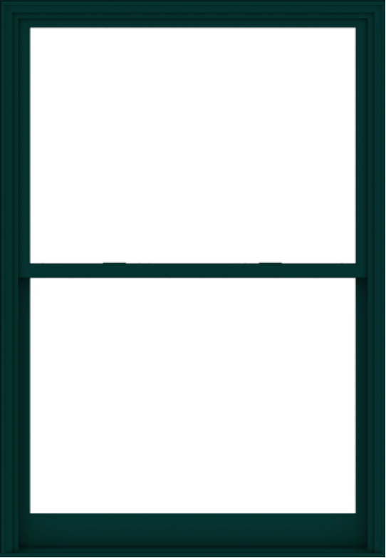 WDMA 54x78 (53.5 x 77.5 inch)  Aluminum Single Hung Double Hung Window without Grids-5