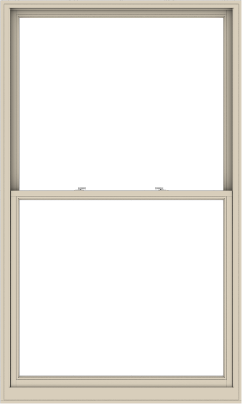 WDMA 54x90 (53.5 x 89.5 inch)  Aluminum Single Hung Double Hung Window without Grids-2