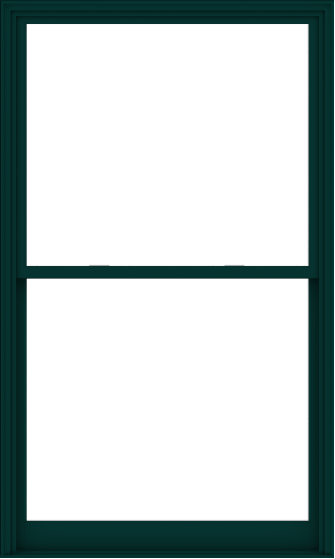 WDMA 54x90 (53.5 x 89.5 inch)  Aluminum Single Hung Double Hung Window without Grids-5