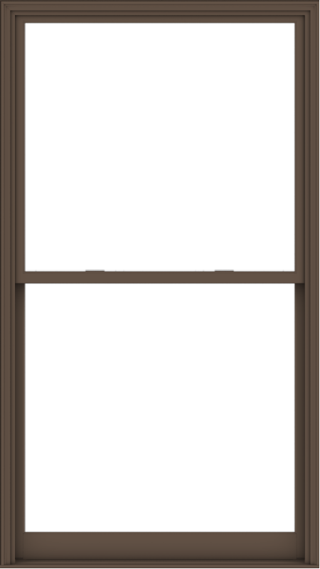 WDMA 54x96 (53.5 x 95.5 inch)  Aluminum Single Hung Double Hung Window without Grids-4