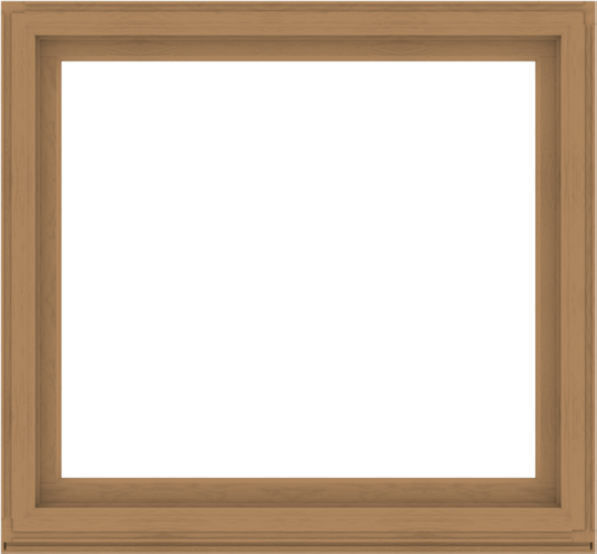 WDMA 56x52 (55.5 x 51.5 inch) Composite Wood Aluminum-Clad Picture Window without Grids-1