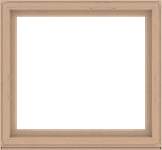 WDMA 56x52 (55.5 x 51.5 inch) Composite Wood Aluminum-Clad Picture Window without Grids-2