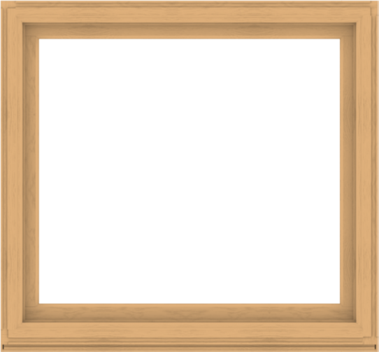 WDMA 56x52 (55.5 x 51.5 inch) Composite Wood Aluminum-Clad Picture Window without Grids-3