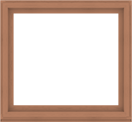 WDMA 56x52 (55.5 x 51.5 inch) Composite Wood Aluminum-Clad Picture Window without Grids-4
