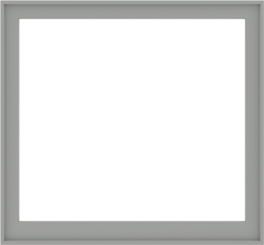WDMA 56x52 (55.5 x 51.5 inch) Composite Wood Aluminum-Clad Picture Window without Grids-5