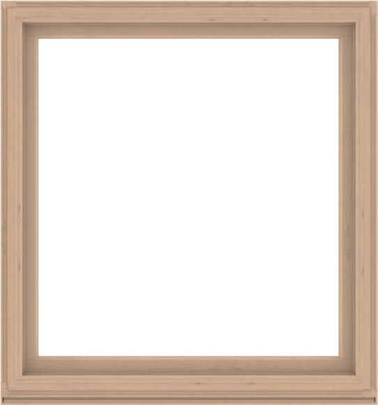 WDMA 56x60 (55.5 x 59.5 inch) Composite Wood Aluminum-Clad Picture Window without Grids-2