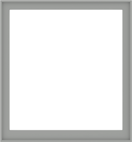 WDMA 56x60 (55.5 x 59.5 inch) Composite Wood Aluminum-Clad Picture Window without Grids-5