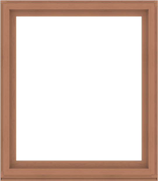 WDMA 56x64 (55.5 x 63.5 inch) Composite Wood Aluminum-Clad Picture Window without Grids-4