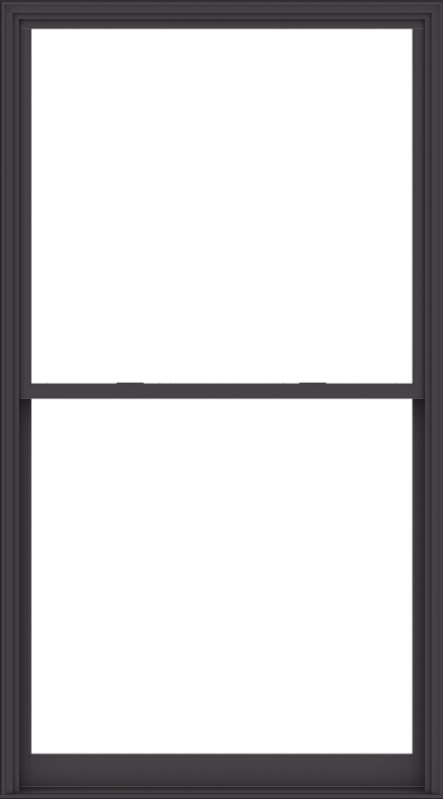 WDMA 60x108 (59.5 x 107.5 inch)  Aluminum Single Hung Double Hung Window without Grids-3