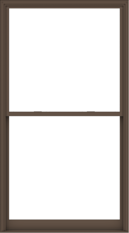 WDMA 60x108 (59.5 x 107.5 inch)  Aluminum Single Hung Double Hung Window without Grids-4