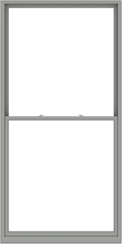 WDMA 60x120 (59.5 x 119.5 inch)  Aluminum Single Double Hung Window without Grids-1
