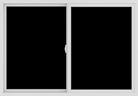 WDMA 60x42 (59.5 x 41.5 inch) Vinyl uPVC White Slide Window without Grids Interior
