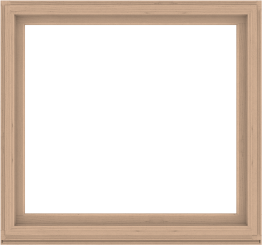 WDMA 60x56 (59.5 x 55.5 inch) Composite Wood Aluminum-Clad Picture Window without Grids-2