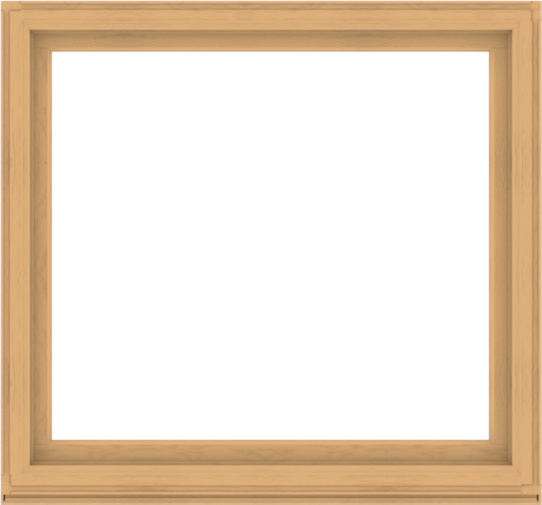 WDMA 60x56 (59.5 x 55.5 inch) Composite Wood Aluminum-Clad Picture Window without Grids-3