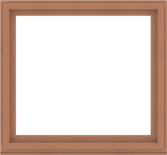 WDMA 60x56 (59.5 x 55.5 inch) Composite Wood Aluminum-Clad Picture Window without Grids-4