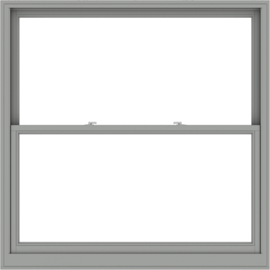 WDMA 60x60 (59.5 x 59.5 inch)  Aluminum Single Double Hung Window without Grids-1