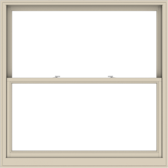 WDMA 60x60 (59.5 x 59.5 inch)  Aluminum Single Hung Double Hung Window without Grids-2