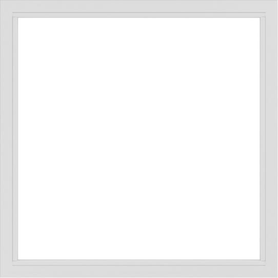 WDMA 60x60 (59.5 x 59.5 inch) Vinyl uPVC White Picture Window without Grids-2