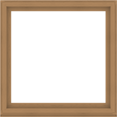 WDMA 60x60 (59.5 x 59.5 inch) Composite Wood Aluminum-Clad Picture Window without Grids-1