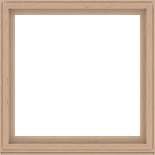 WDMA 60x60 (59.5 x 59.5 inch) Composite Wood Aluminum-Clad Picture Window without Grids-2