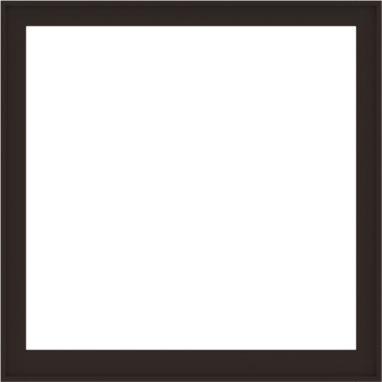 WDMA 60x60 (59.5 x 59.5 inch) Composite Wood Aluminum-Clad Picture Window without Grids-6