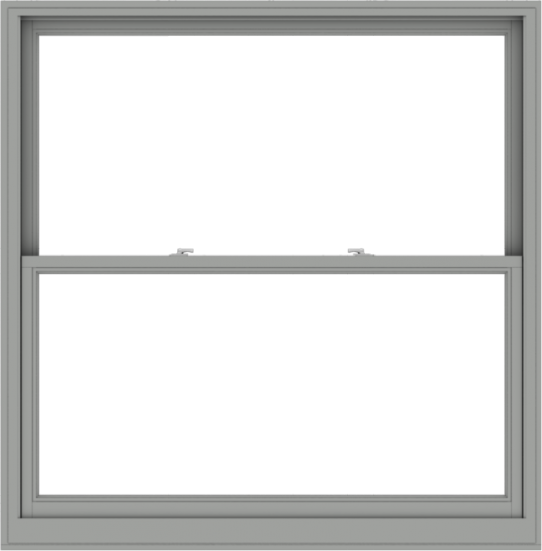WDMA 60x61 (59.5 x 60.5 inch)  Aluminum Single Double Hung Window without Grids-1