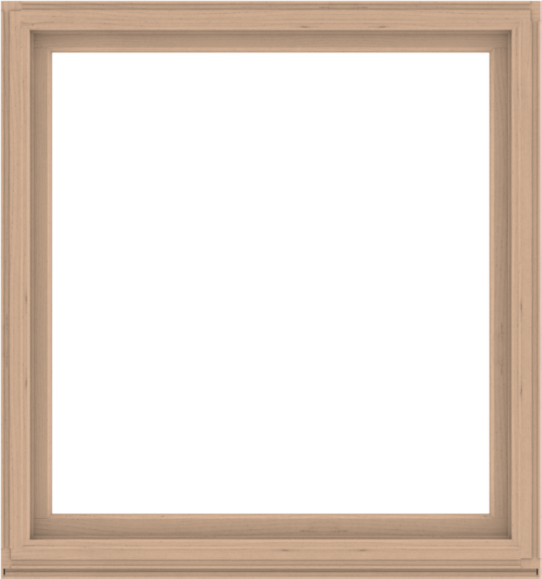WDMA 60x64 (59.5 x 63.5 inch) Composite Wood Aluminum-Clad Picture Window without Grids-2